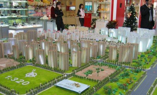 Maquette d'immeubles