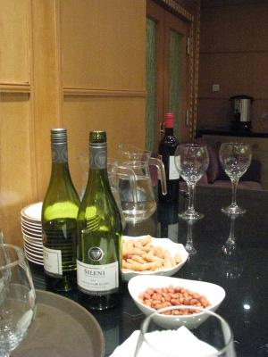 Vin blanc de l'apéritif