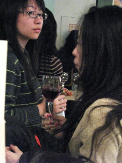 Deux étudiantes