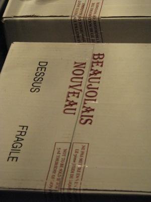Carton de Beaujolais