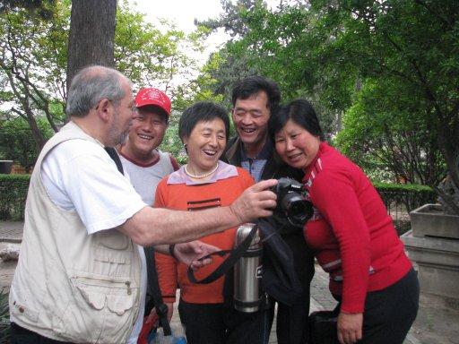 Famille photographiée