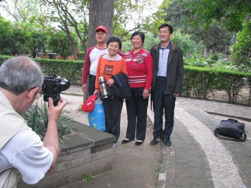 Famille de touristes