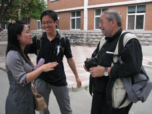 Professeur de portugais et étudiant