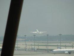 Envol de l'avion