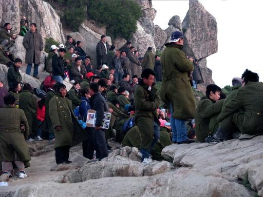 Spectateurs à Taishan