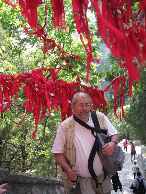 Escaliers du mont Taishan