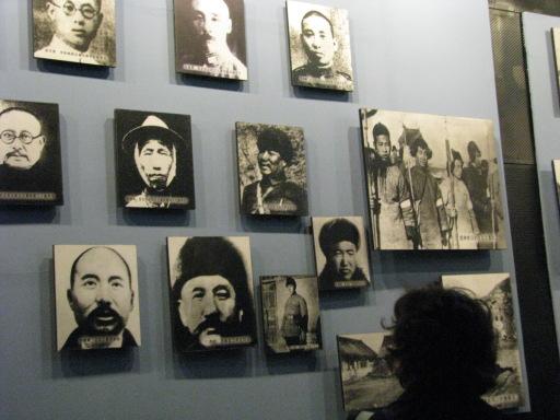 Portraits de combattants