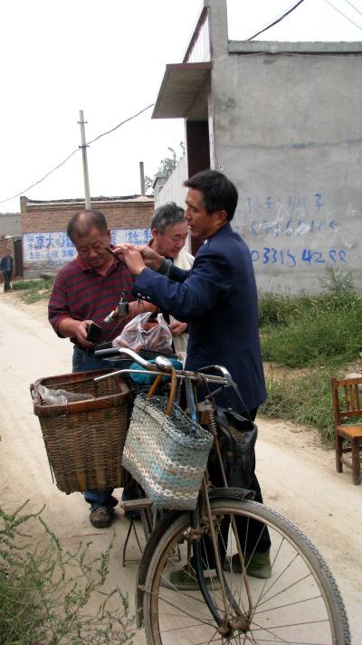 Vendeur de volailles