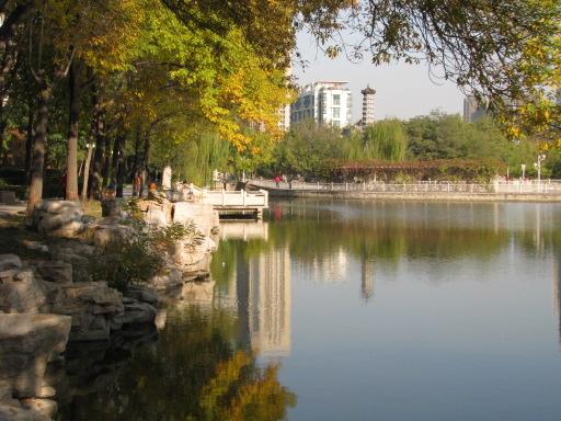 Lac du jardin du peuple